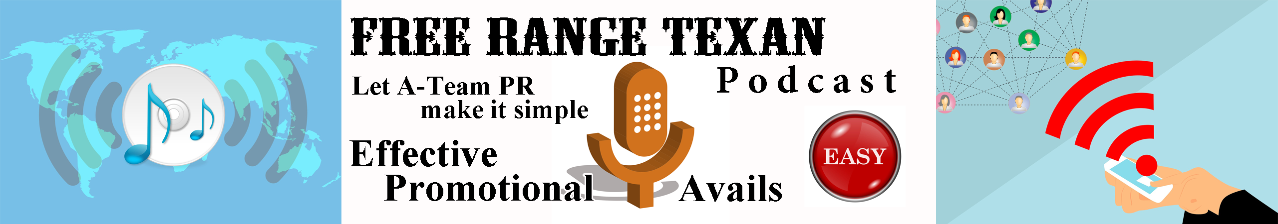 Advertise on Free Range Texan podcast