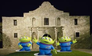 Free Range Texan Alien Listeners