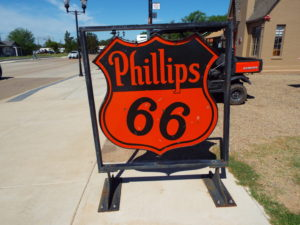Turkey, Texas Phillips 66 sign