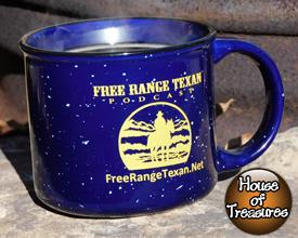 Free Range Texan Campfire Mug